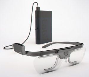 Spaeth eye-tracking Brille